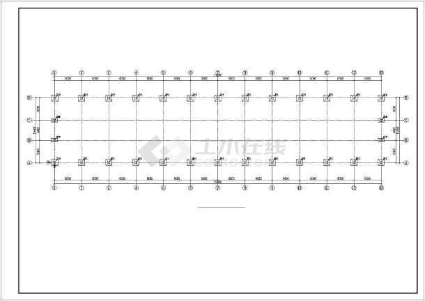 轻钢结构奶牛养殖区工程施工图纸(含建筑结构水电)-图2