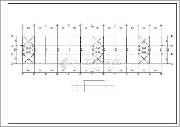 轻钢结构奶牛养殖区工程施工图纸(含建筑结构水电)-图3
