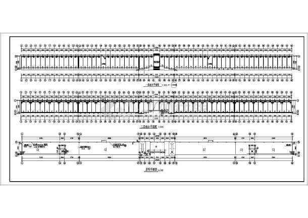 二层商业楼门面房建筑施工图纸(含设计说明)-图1