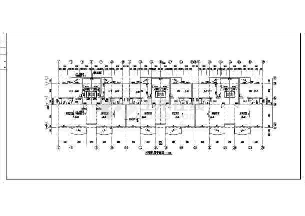 小区住宅楼建筑方案设计图-图3