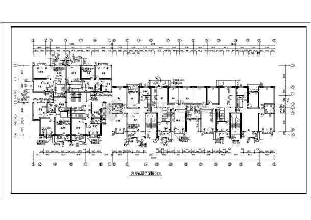 某温馨家园住宅小区建筑cad施工图(共11张)-图2