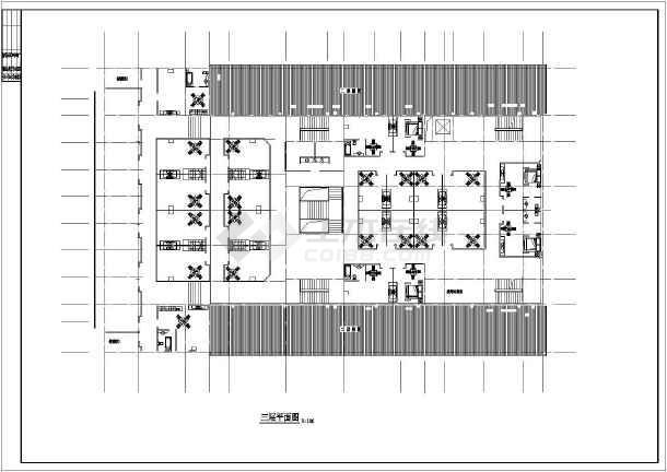 某地洗浴中心建筑图-图2