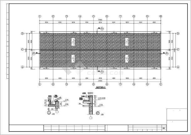 某地职工安置房建筑设计图(共4张)-图2