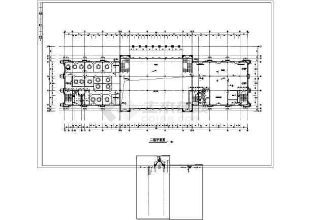某地欧式酒店建筑施工图-图1