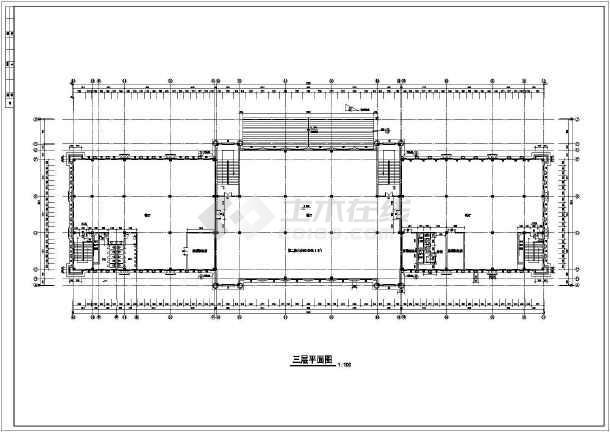 某地欧式酒店建筑施工图-图2
