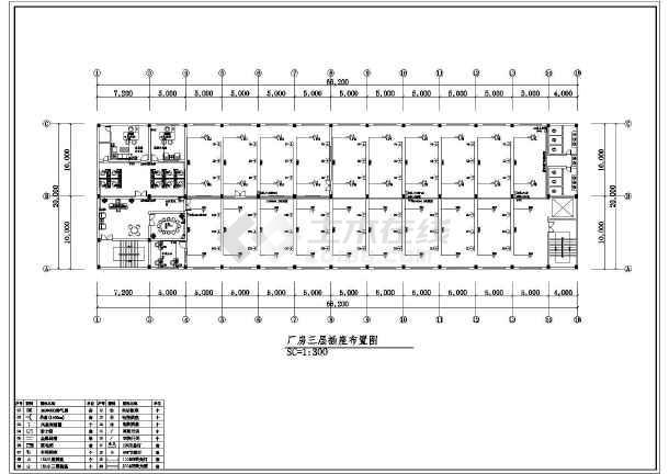 一套工厂详细的电气cad施工图(共13张)-图2
