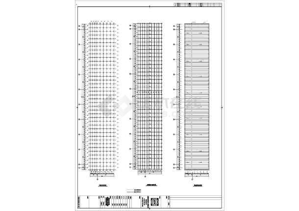 钢结构网架施工图纸-图二