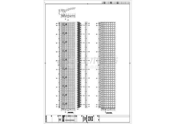 钢结构网架施工图纸-图2