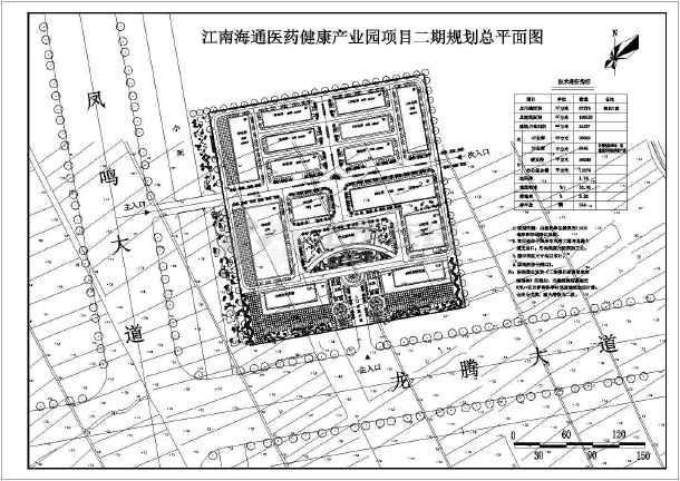 某地整套钢结构厂区施工方案cad设计图纸-图一