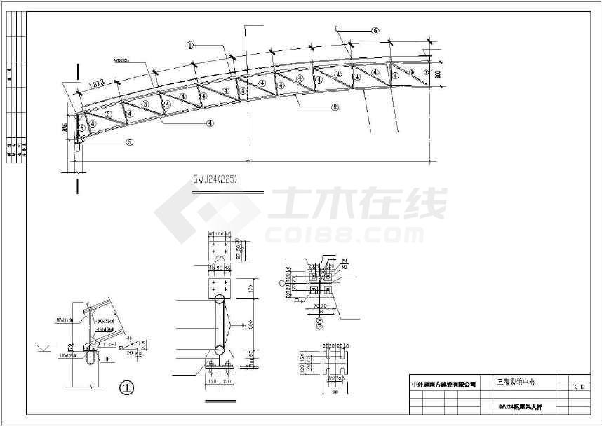 某地精美商场建筑设计施工图-图2