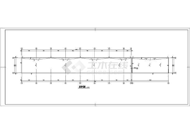 某地区商业楼建筑施工图(共7张)-图2
