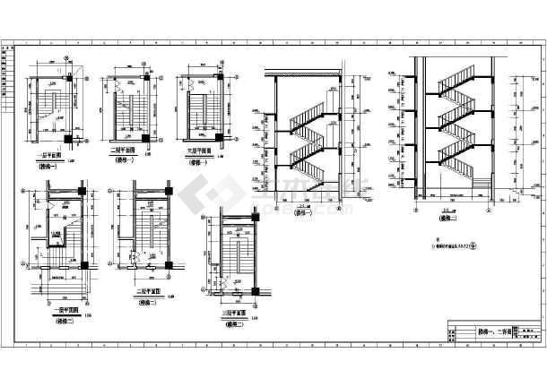 某地体育馆建筑设计图-图2