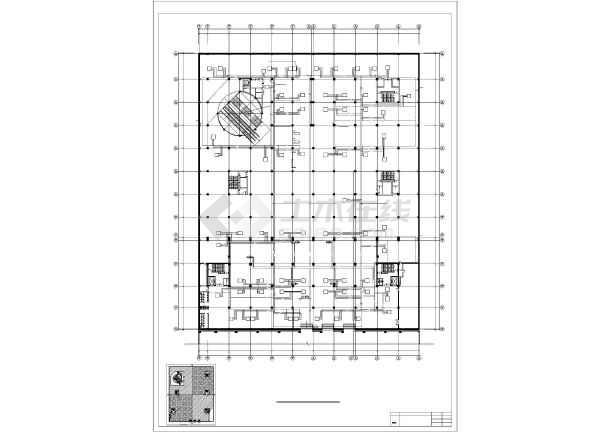 某大饭店及休闲广场暖通设计图-图2