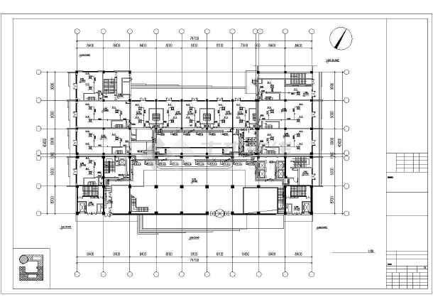 某大饭店及休闲广场暖通设计图-图3