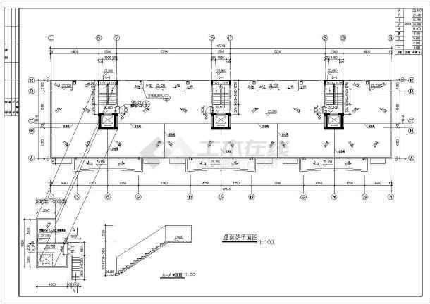 某永宏佳园小高层住宅建筑施工图(共8张)-图2