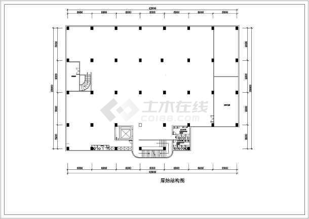 某地休闲中心建筑cad施工图-图1