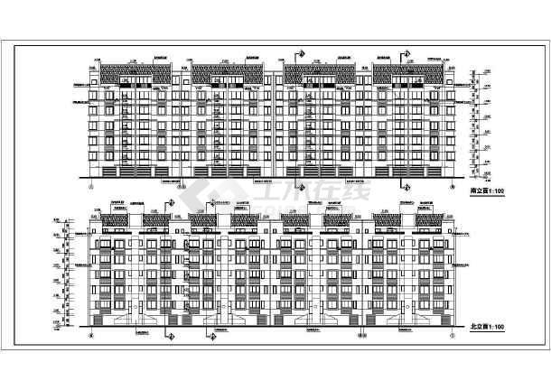 某地居住区31栋住宅楼建筑设计图-图1