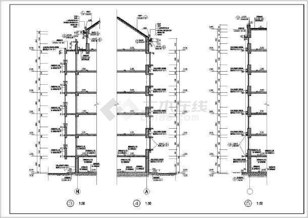 某地居住区31栋住宅楼建筑设计图-图2