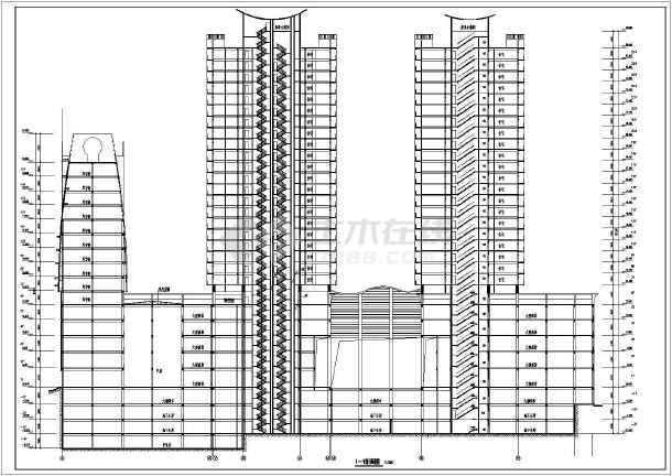 某地商业写字楼建筑设计图纸-图2
