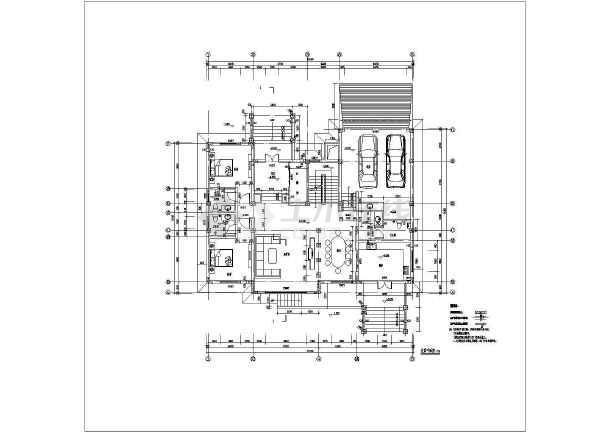 精装修欧式别墅建筑设计图-图2