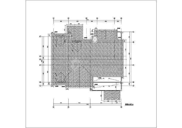 精装修欧式别墅建筑设计图-图3