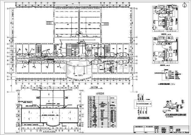酒店全套电气施工图(共9张)-图1