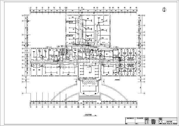 酒店全套电气施工图(共9张)-图2