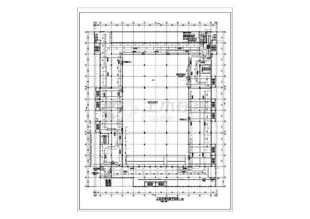某大型商场空调设计方案图-图1