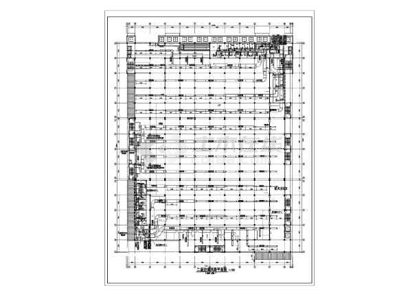某大型商场空调设计方案图-图2