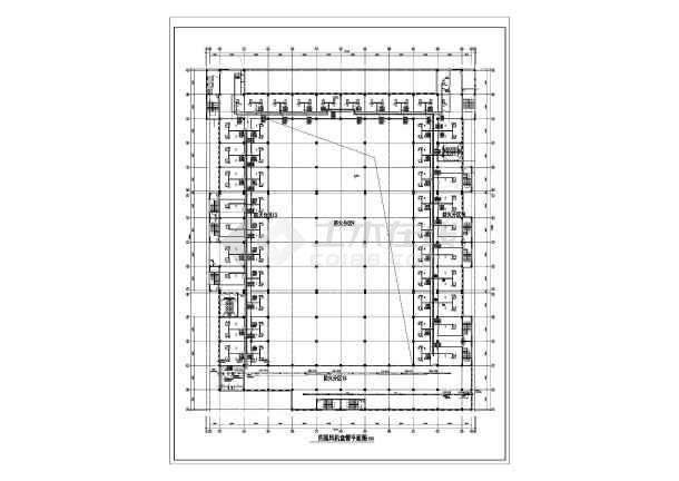 某大型商场空调设计方案图-图3