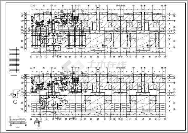 武汉某十八层框剪高层住宅结构设计图-图1