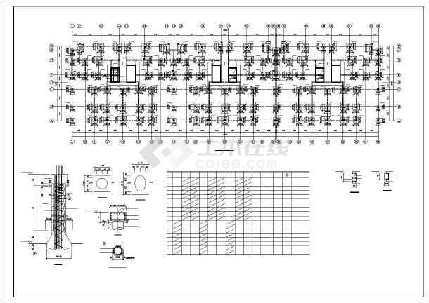 武汉某十八层框剪高层住宅结构设计图-图2