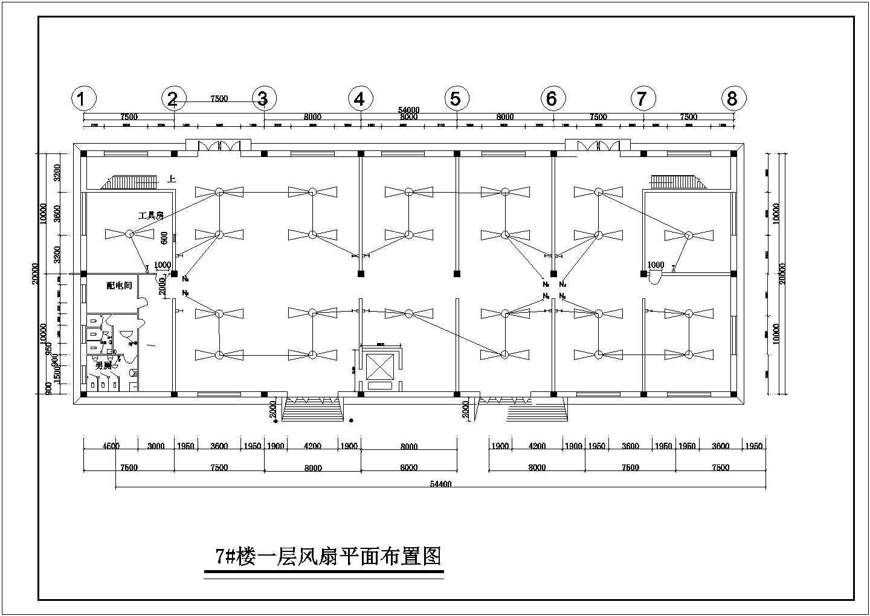 某标准厂房电气施工图(含电气说明)图片1