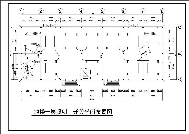 某标准厂房电气施工图(含电气说明)图片3