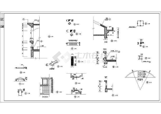 碧海花园建筑设计平面图-图2