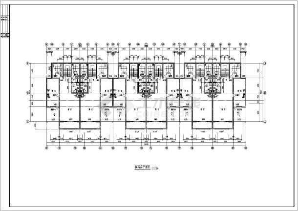 碧海花园建筑设计平面图-图3