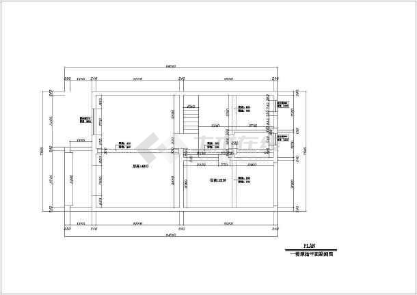 点击查看豪华别墅全套室内家装装修cad施工图第1张大图