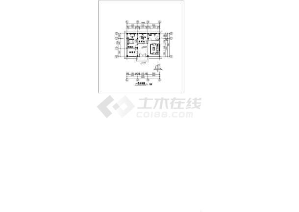 一套典型的别墅施工图(共8张)-图2