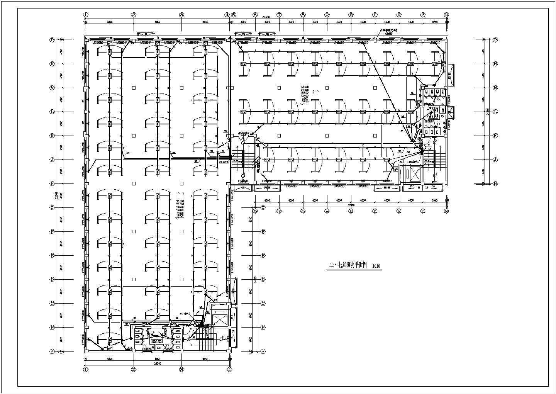 一套详细的厂房电气施工图(含电 气 设 计 说 明)图片2