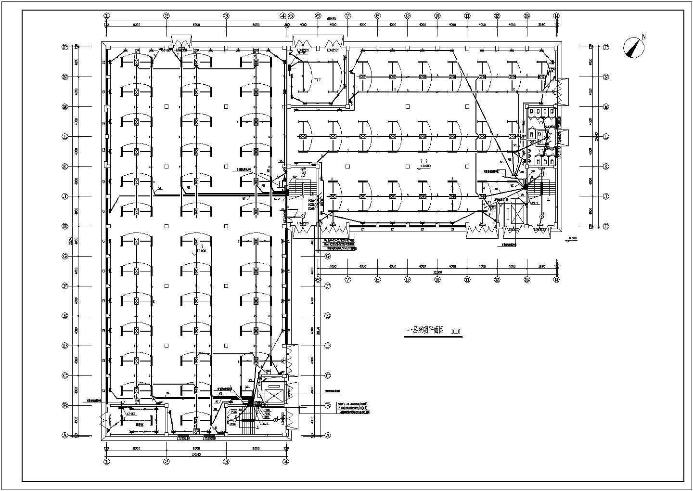 一套详细的厂房电气施工图(含电 气 设 计 说 明)图片3