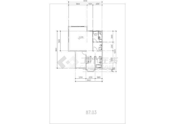 坡地独栋别墅方案设计建筑图-图3
