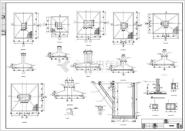 [湖南]27米跨现浇钢筋混凝土排架结构工厂车间结构施工图-图2