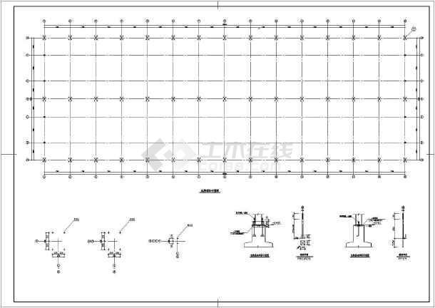 某公司仓库钢结构施工图-图2