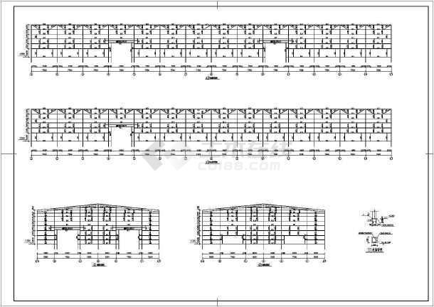 某公司仓库钢结构施工图-图3