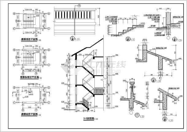 某住宅区特色小别墅建筑设计方案图-图1