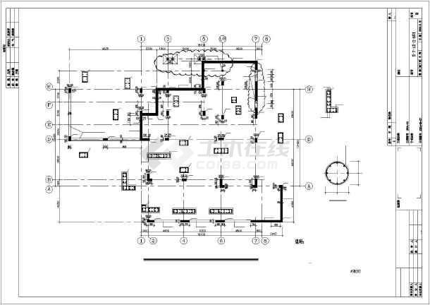 点击查看[北京]某独立高档住宅结构设计图第1张大图