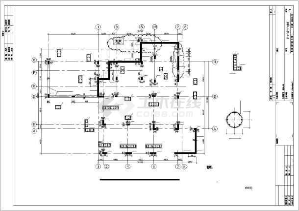 [北京]某独立高档住宅结构设计图-图3
