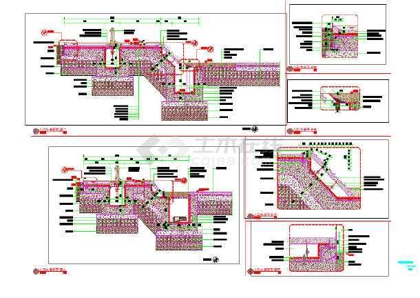 SAUWUS入口水景节点详图(新中式)-图2