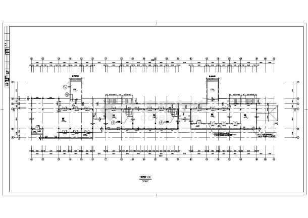 某商业街设计建筑施工CAD图-图2