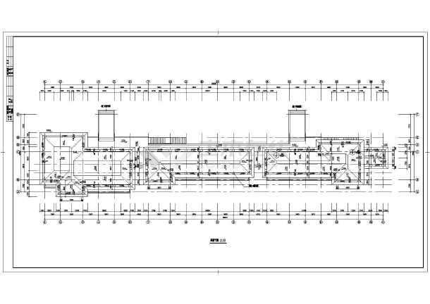 某商业街设计建筑施工CAD图-图3